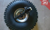tire and wheel hub 22x12x8