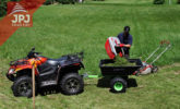 woek quad and folding trailer