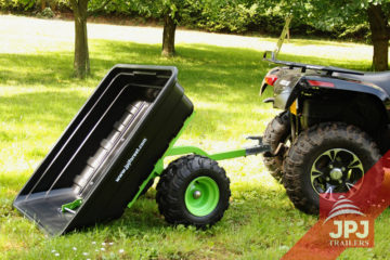 folding trailer for atv