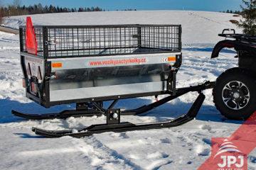 Ski set – ATV trailer Gardener