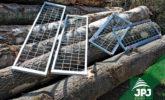 zinc-coated raised sideboards - ATV Trailer Farmer