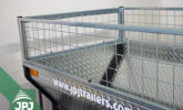 zinc-coated raised sideboards for ATV trailer Farmer