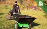 multifunctional trailer Small Gardener in use as a classic wheelbarrow