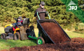 Tipping trailer Small Gardener for ATVs and garden tractors