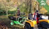 Trailer Small Gardener with a garden tractor