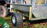 ATV trailer Gardener - wheel detail