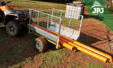 Removable fronts on the ATV trailer Gardener