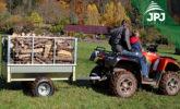 Tipping ATV trailer Gardener