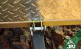 Tipping ATV trailer Gardener - detail