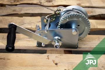 JPJ Forest manual winch